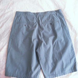Hurley Shorts - Hurley Mens Flat Front Shorts Blue Size 31